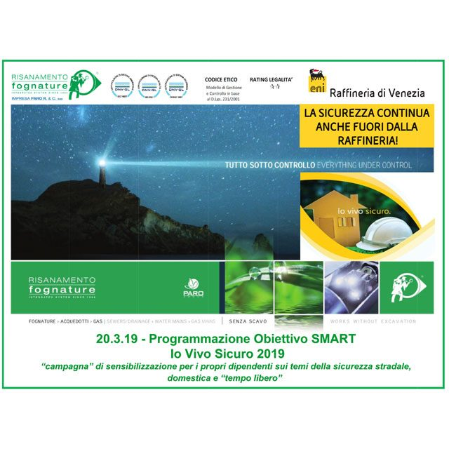Participation in the Vivo Sicuro Campaign – ENI 2019