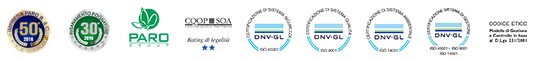 Loghi certificazioni | Risanamento Fognature Spa