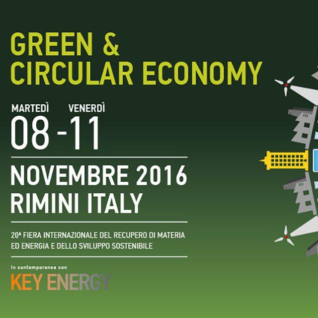 ECOMONDO – Rimini 8/11 Novembre 2016