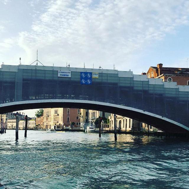 Ponte dell'Accademia – Venice: relining of the arched aqueduct